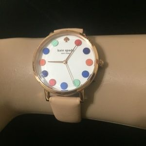 "KATE SPADE NEW YORK ""LIVE COLORFULLY"" LADIES WATCH"